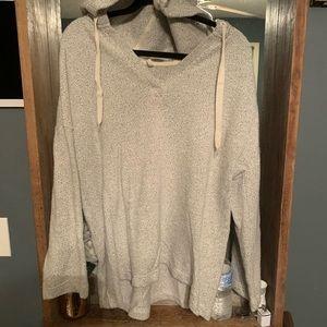 Lou & Grey Hooded Sweater